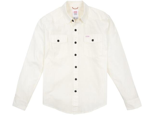 Topo Designs Mountain Lightweight Shirt Heren, natural